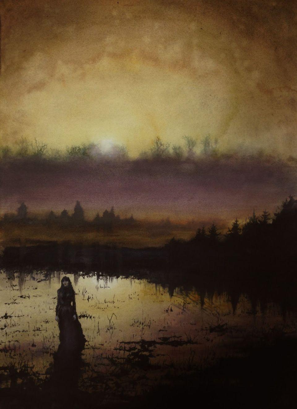 Hagg Lake II by Adam Burke #art #painting