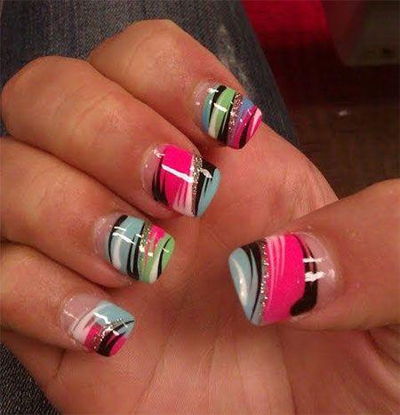 Nail Designs 2014 Summer Nails Pinterest Nails Nail Arts And