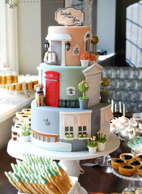 Create The Light Side Of Your Wedding With Funny Wedding Cakes - Create Your Wedding Cake