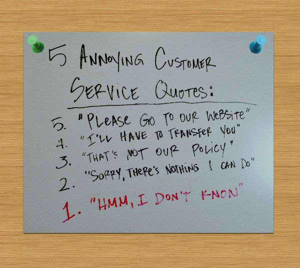 5 Annoying Customer Service Quotes Customer Service Quotes