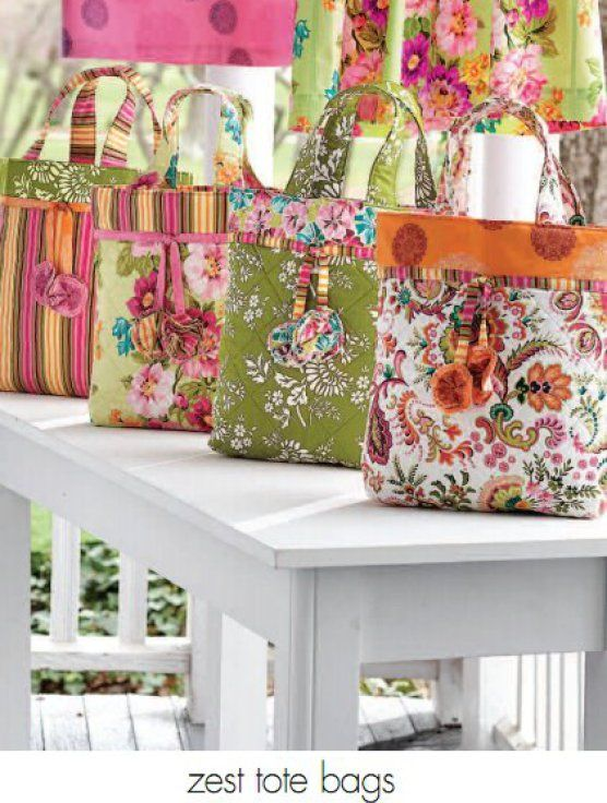 Free Quilted Tote Bag Pattern | Patchwork und Muster