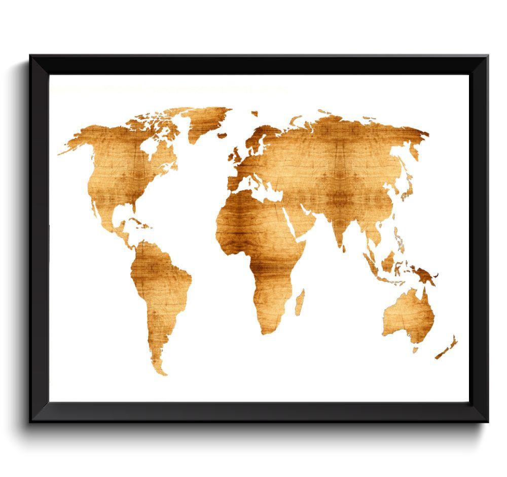 Wood world map print printable world map digital world map art wood world map print printable world map digital world map art wooden gumiabroncs Image collections
