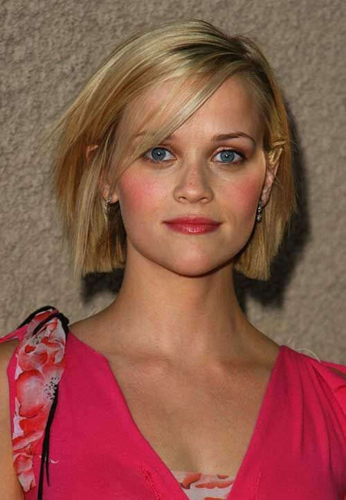 reese witherspoon short bob hairstyle  bob hairstyles