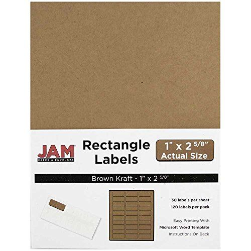 JAM Paper® Labels - Mailing Address Labels - Small (1 - address labels word template