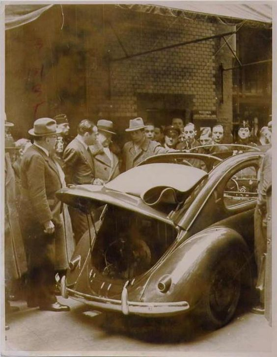 Og 1938 Volkswagen Vw Beetle Kdf Wagen Prototype Vw38 With Sunroof