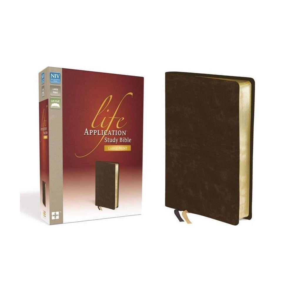 Life Application Study BibleNivLarge Print by