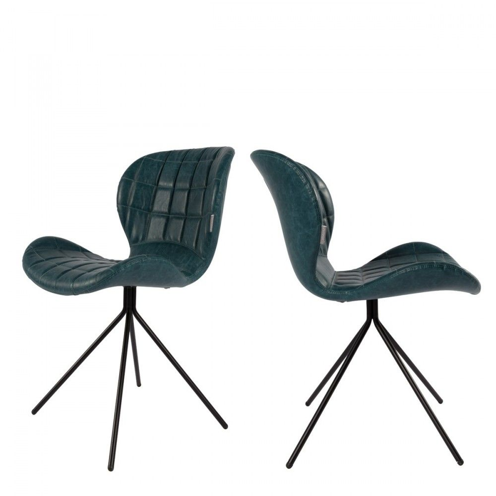 2 chaises design skin Zuiver OMG | Chaise confortable