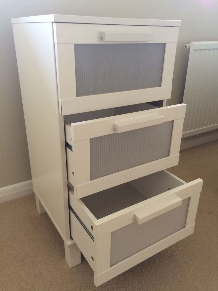 Ikea Aneboda Chest Of 3 Drawers