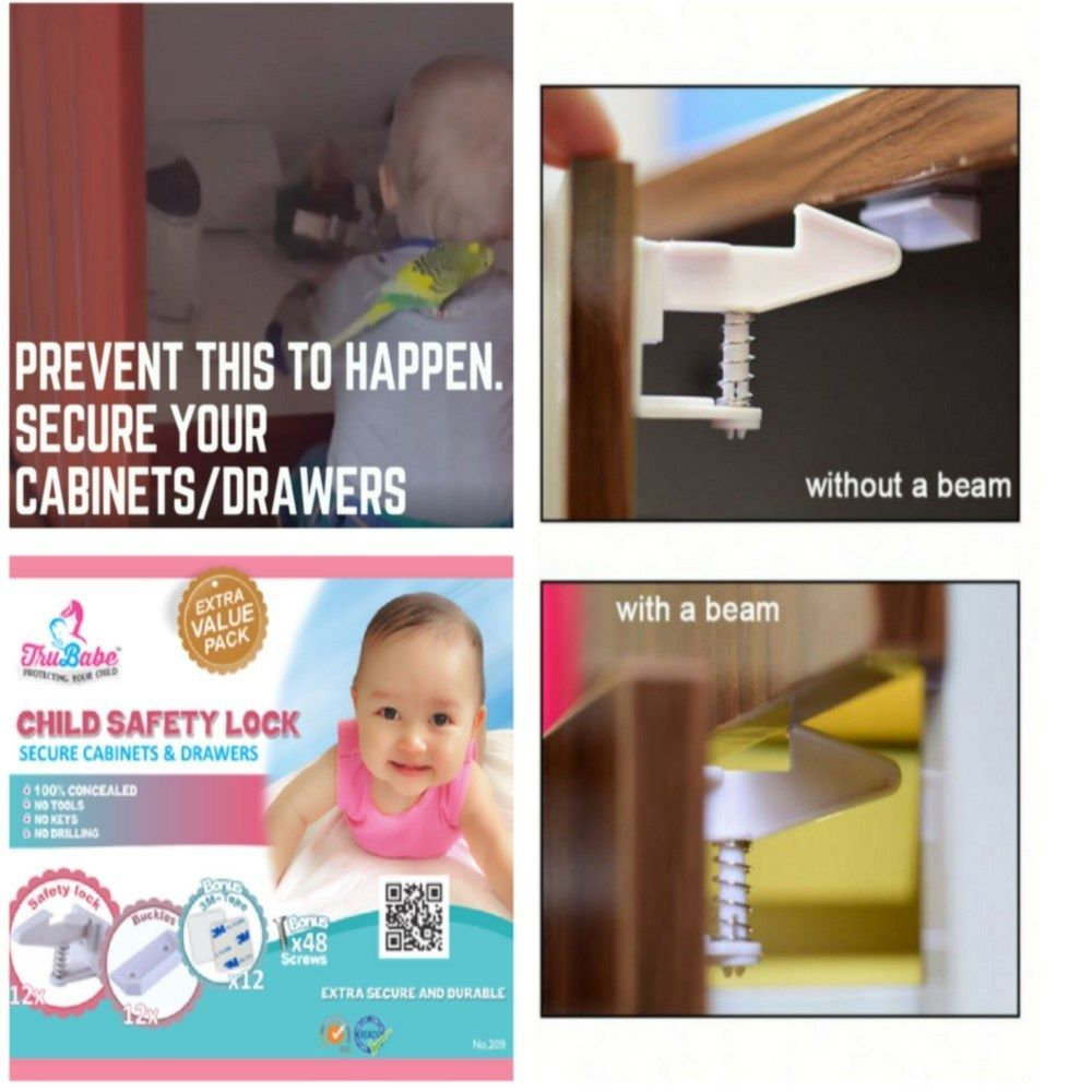 Why This Is The Best No Drill Cabinet Locks Child Proof 5 Stars Review Baby Proofing Child Safety Childproofing Childproofing