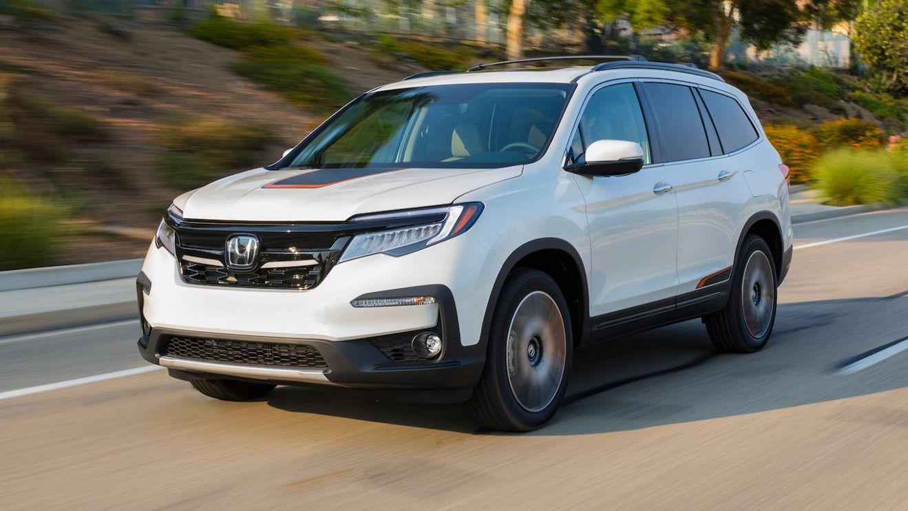 2021 Honda Pilot Spy Release Date and Concept