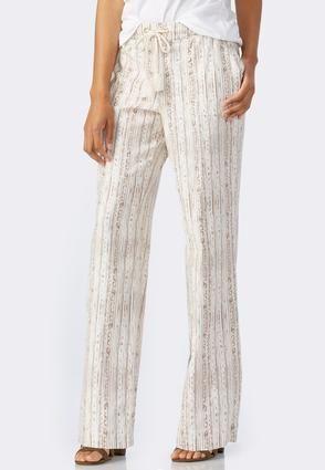 fe3bc9e6109 Cato Fashions Painted Geo Striped Beach Pants  CatoFashions