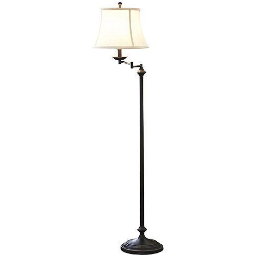 $44.97 Better Homes And Gardens 59 Swing Arm Floor Lamp   Walmart.com