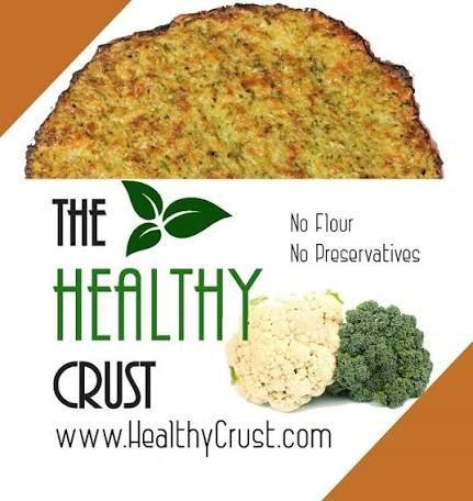 Cauliflower Pizza Crust | Recipe | Healthy pizza crust ...