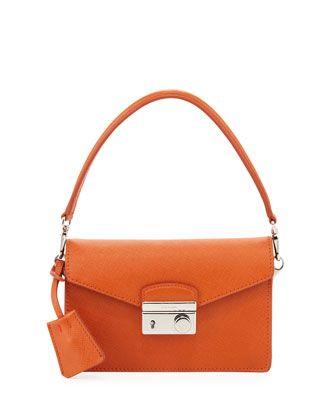 cced1d23e5f7 Saffiano Mini Sound Bag Orange (Papaya) in 2019 | Handbags | Bags ...