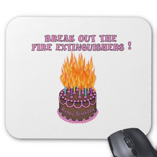 FIRE!! Birthday Cake On FIRE!!!