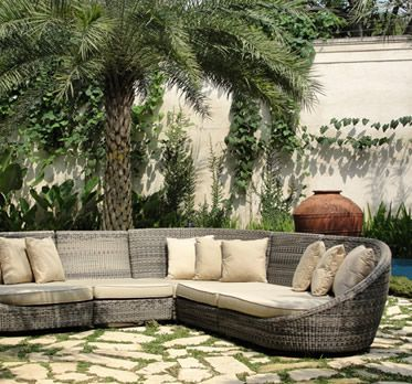 Drift Corner Sofa From Posh Garden Furniture