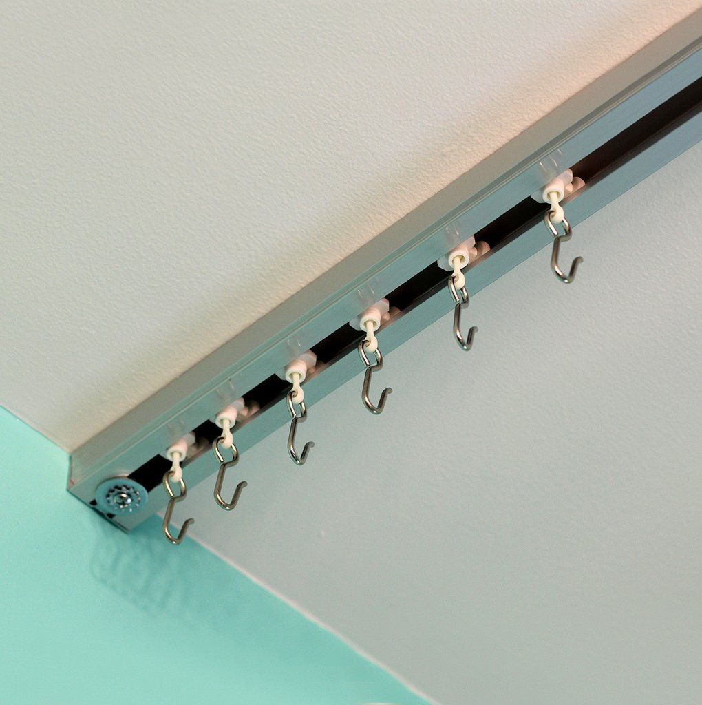 Ceiling Track Sets Easy Setup For Spaces Up To 36ft Room