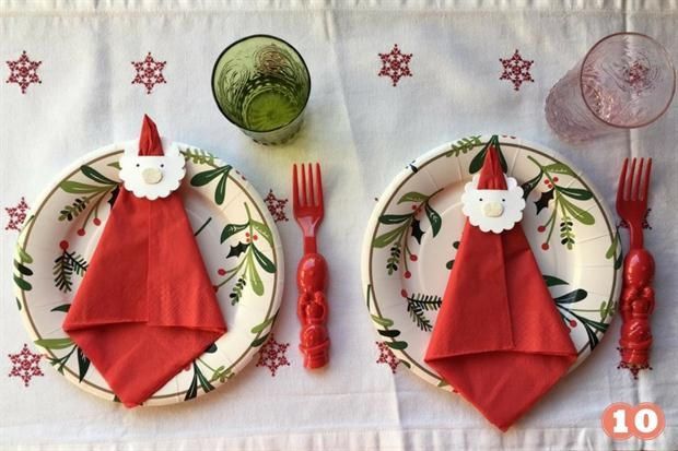 Decoración navideña: 4 DIY para llenar de color la mesa de los chicos  Ideas fáciles y prácticas para decorar la mesa de Navidad..
