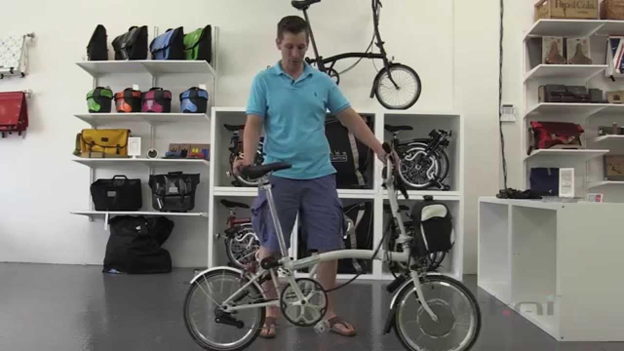 Urkai Brompton Electric Folding Bike Canada Folding Electric Bike Brompton Folding Bike