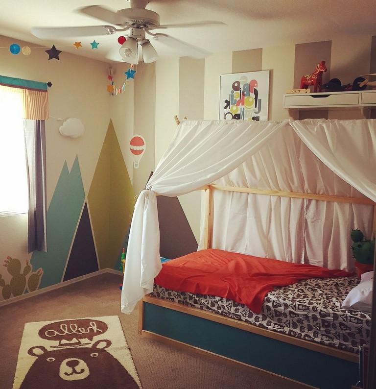 Loft Bedroomdesign: 47+ Pretty Ikea Kura Beds Ideas For Your Kids Rooms