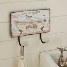 Vintage Style Bathroom Hooks From Live Laugh Love