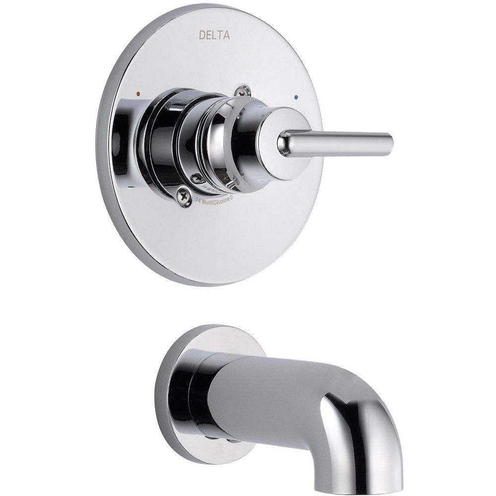 Delta Faucet T14159 Wall Mounted Bathtub Faucet Only Chrome