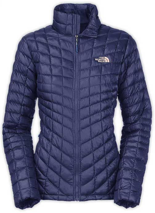 b045eedc970a The North Face Thermoball Full Zip Jacket for Women in Patriot Blue CTL4-A1L