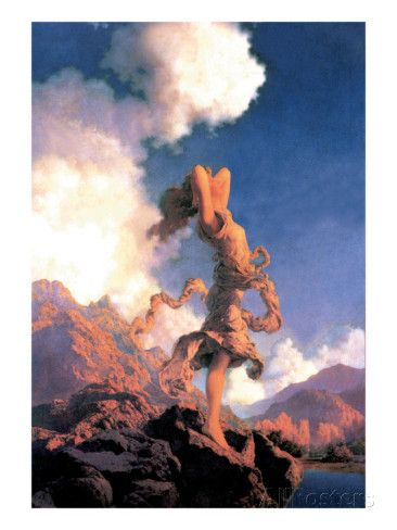Ecstasy Wall Decal by Maxfield Parrish at AllPosters.com