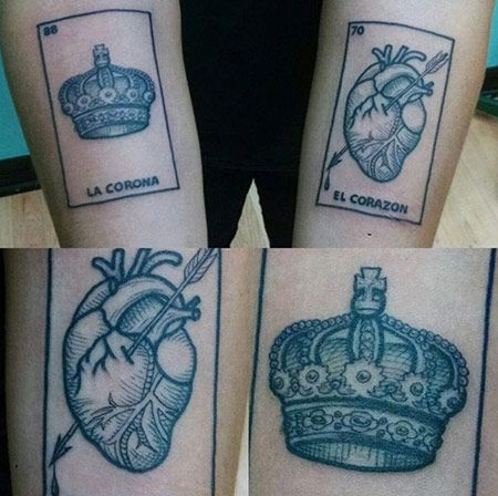19 Loteria Tattoos That Pay Beautiful Homage To The Mexican Game