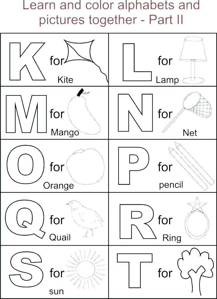 Free Printable Abc Coloring Pages Alphabet Coloring Book Printable New Free Printable Alphabet Col Alphabet Coloring Pages Abc Coloring Pages Alphabet For Kids