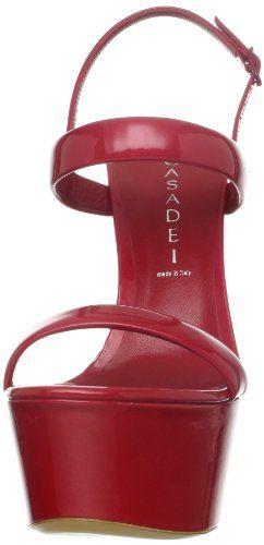 #Shoes - #Casadei Womens 3162 Platform Sandal - Buy New: $825.00  [Click On Image For Details]