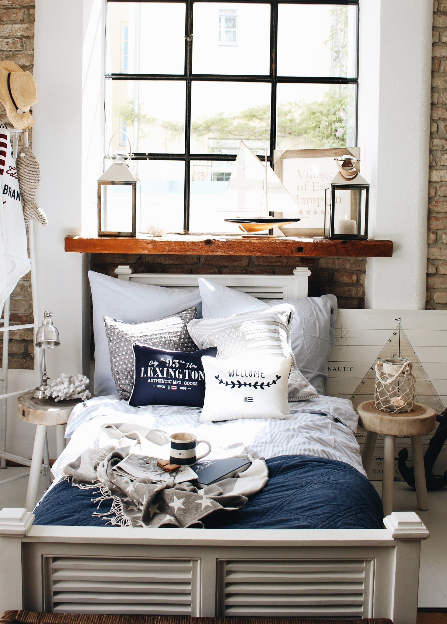 How To Waking Up In The Hamptons Coastal Cottage Bedbath