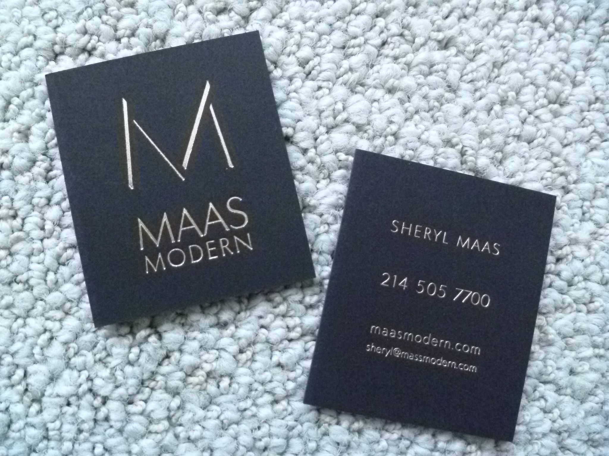 Interior Designers' Business Cards | Studio Z Mendocino | business ...