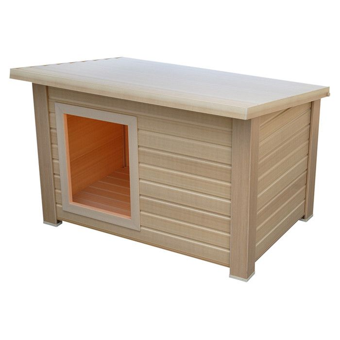 Eco Concepts Indoor Outdoor Rustic Lodge Dog House Pretty Snazzy