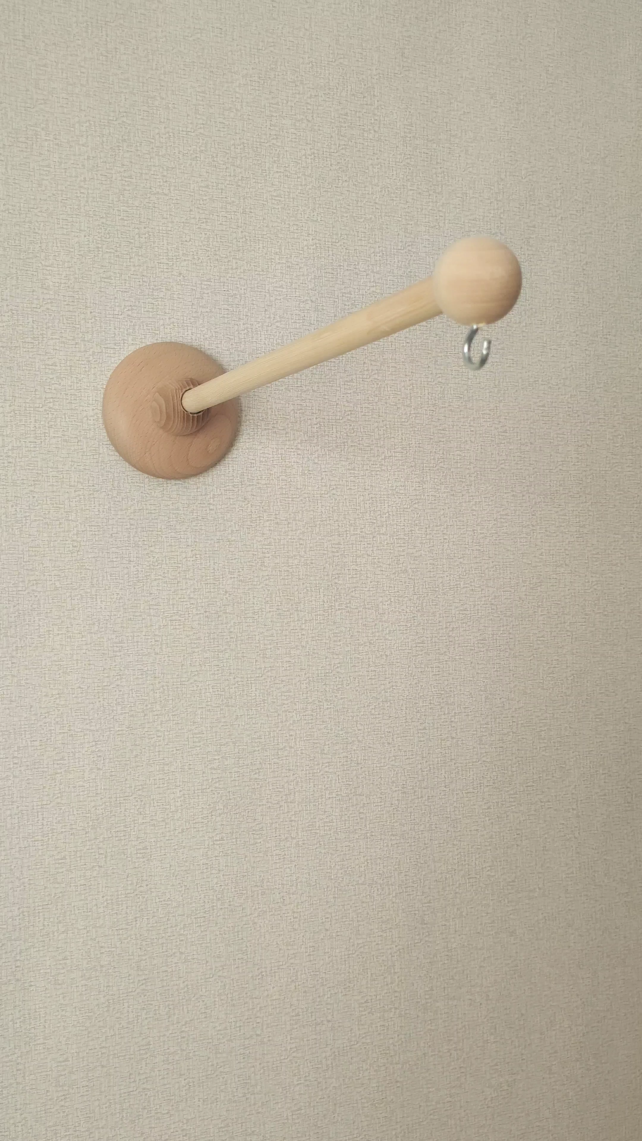 Wall Wood Arm For Baby Mobile With Music Box Wooden Mount For Mobile Hanging Beech And Pine Nursery Mobile Holder Video Video In 2020 Wood Arms Hanging Wall Decor Baby Mobile