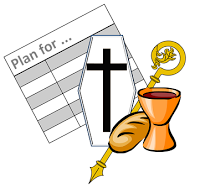 Planning Templates For Catholic Funeral Mes Very Helpful Also The Site Has Years Liturgical Calendar And Other Tools
