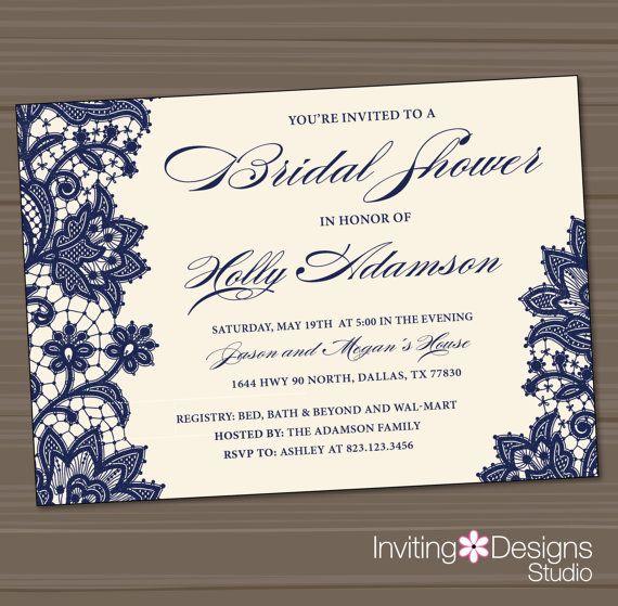 d82d64b0423 Printable Wedding Shower Invitation