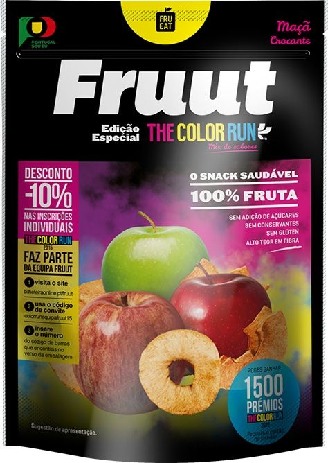 Fruut: O Snack Saudável de fruta crocante