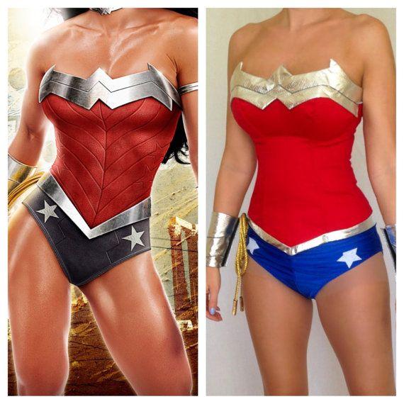 Wonder woman superhero costume-9768