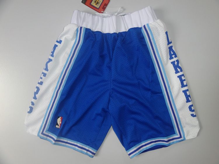 3eaa0bcd77c Los Angeles Lakers Blue shorts