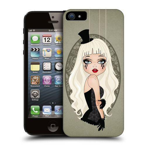 HEAD CASE CLAUDIA MARIONETTE DOLL DESIGN HARD BACK CASE COVER FOR APPLE iPHONE 5