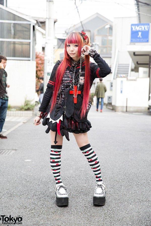 Sex Pot Revenge Skirt in Harajuku