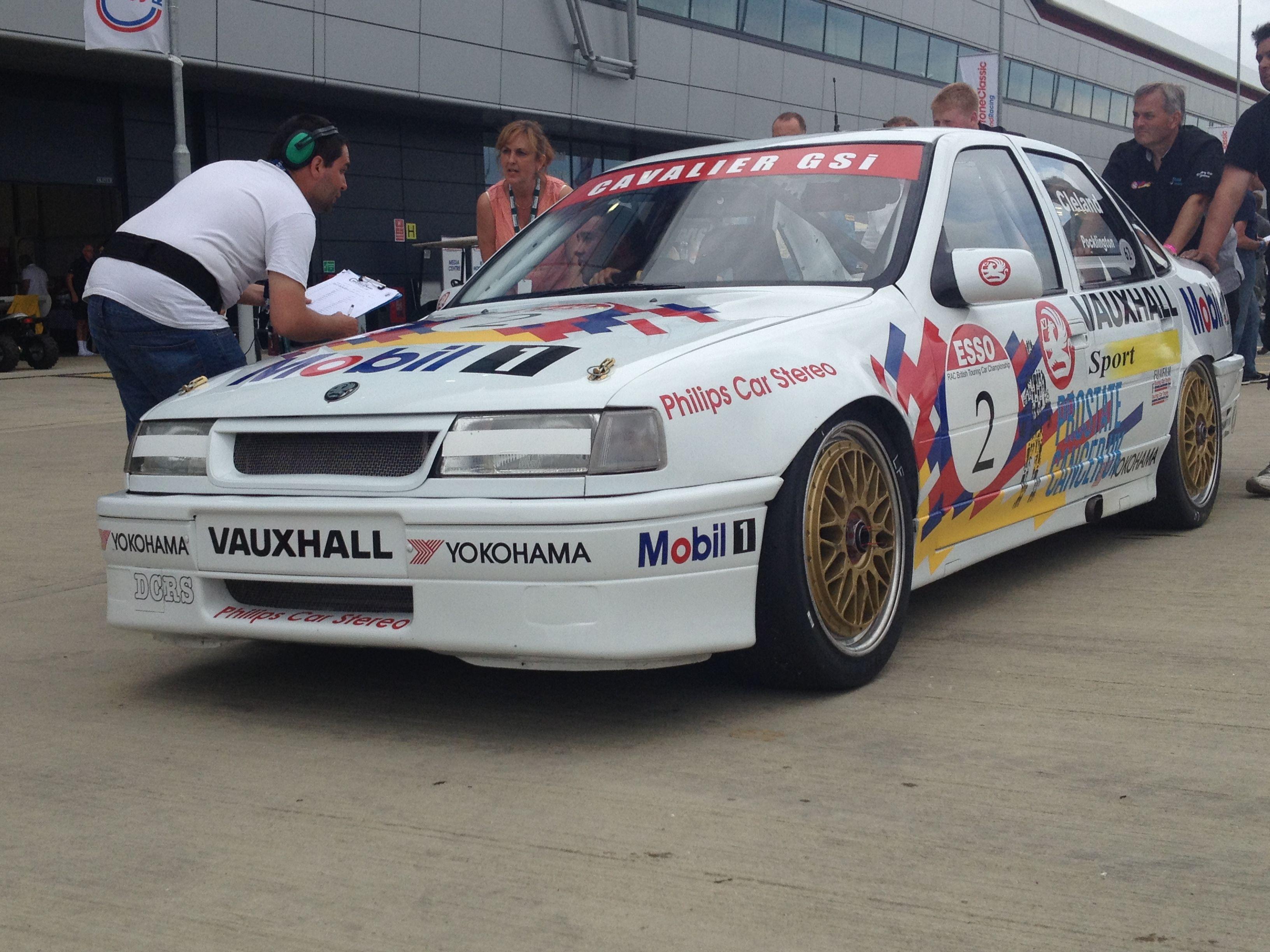 John Clelands Cavalier Gm Car Btcc Vauxhall