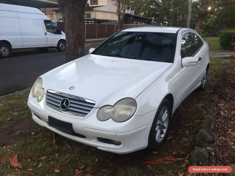 Mercedes Benz C180 W203 Coupe - Damaged - Needs - Project - Cheap ...