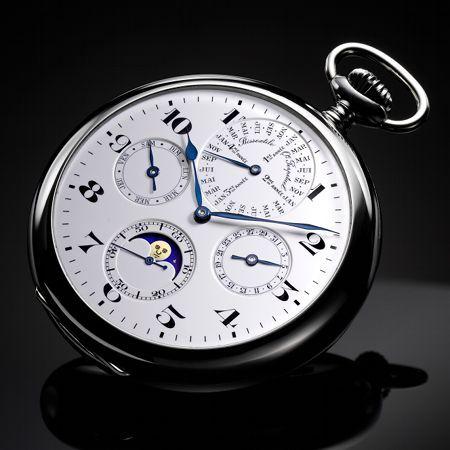 Calendario Perpetuo Orologio.12 Orologi Da Tasca D Epoca Di Proprieta Jaeger Lecoultre