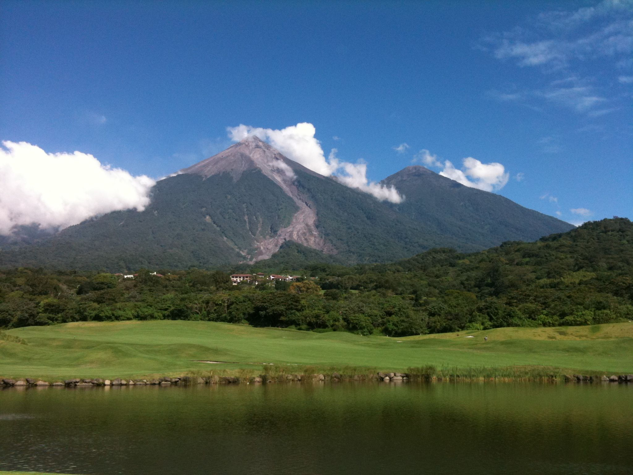 Volcanes de Fuego y Acatenango