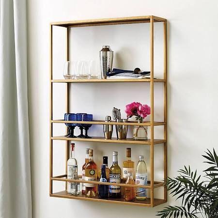 Bar Shelf  Google Search  British Colonial  Pinterest  British Cool Decorative Kitchen Shelves 2018