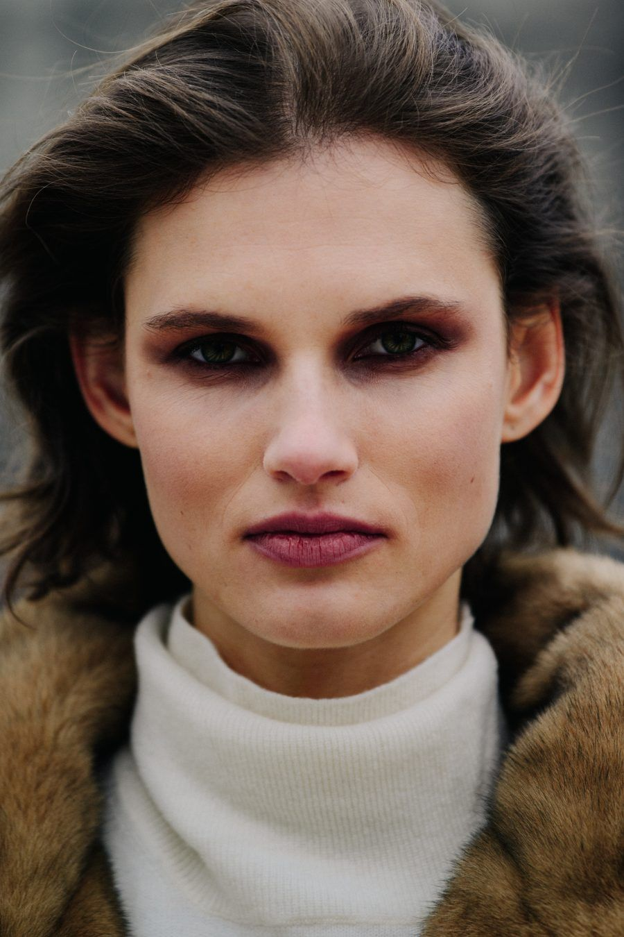 No makeup makeup. Photo by Kate Benson. Model is Eliza
