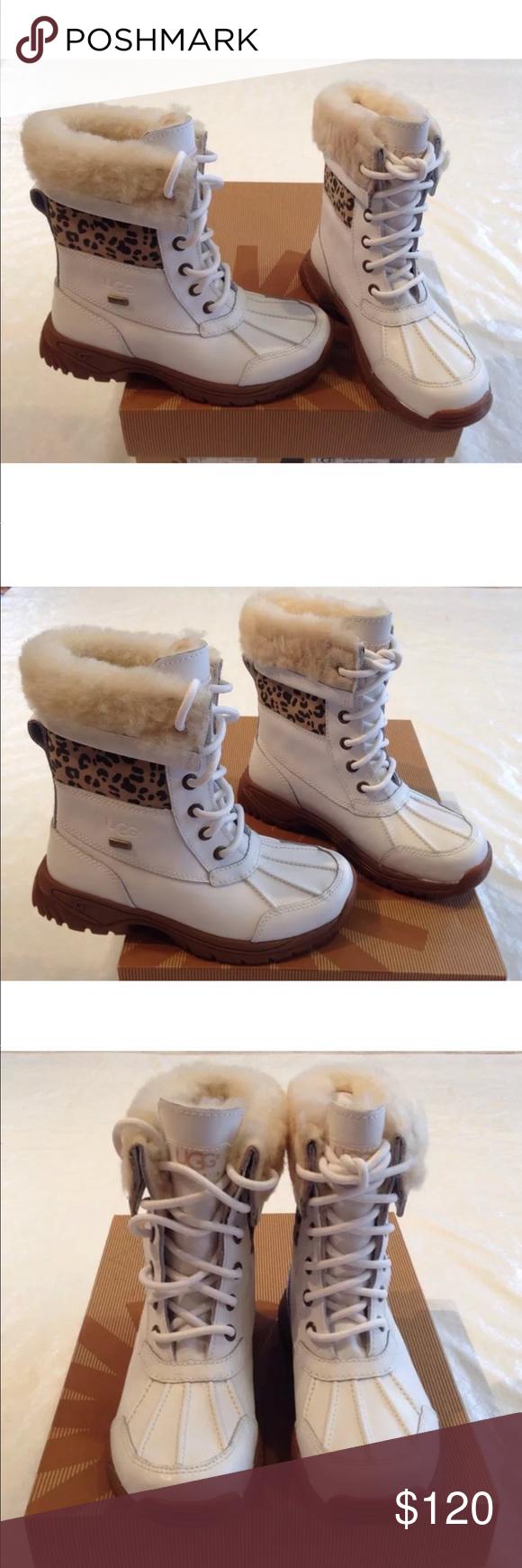 9e33a91d3d4f8 UGG Australia**White Fur-lined Boots**US 1**$170 UGG Australia- K ...