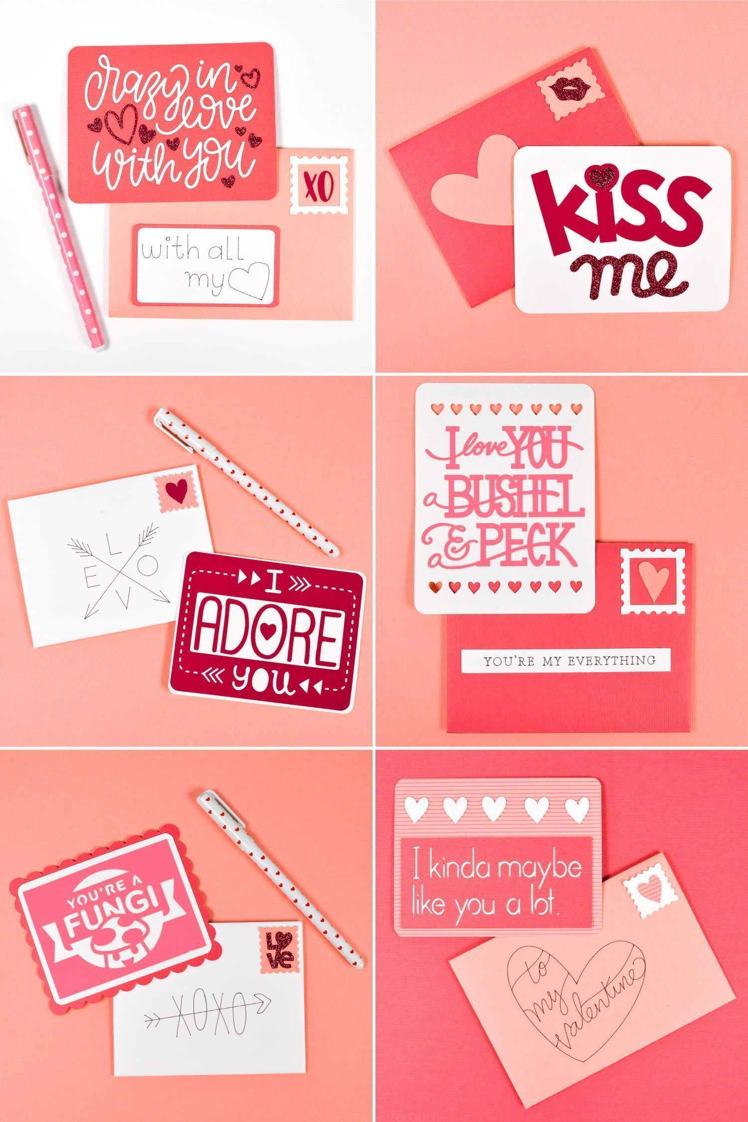 Valentineamp039s Day diy Valentineamp039s Day diy DIY Valentines Day Idea Love Letters with Cricut  DIY Valentines Day Idea Love Letters with Cricut  day cards cricut